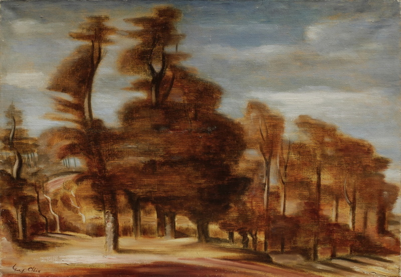 Yves ALIX - Painting - Paysage