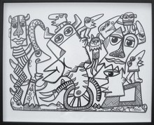 Didier TRIGLIA - Pintura - AVANT DE PARTIR