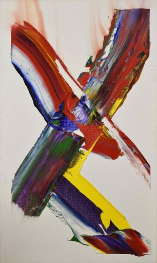 Paul JENKINS - Pittura - Phenomena Cross Beam Light