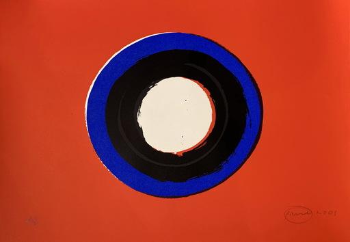 Otto PIENE - Estampe-Multiple - Blue Moon #1
