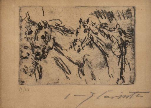 Lovis CORINTH - Print-Multiple - Horses