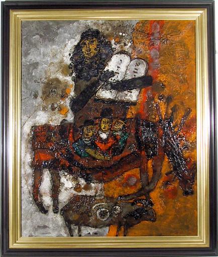 Théo TOBIASSE - Painting - C'est le passe que nous attendons