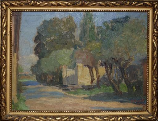 Alberto FALCHETTI - Pintura - Paesaggio