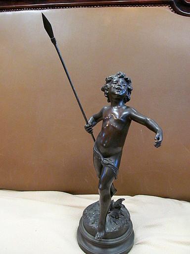 Auguste MOREAU - Sculpture-Volume - Cupido vainqueur