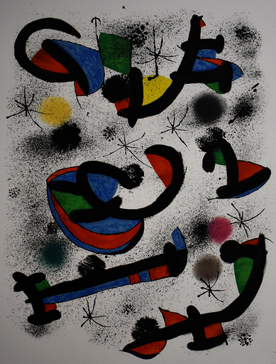 Joan MIRO - Stampa-Multiplo - The Musical Seance, from: Allegro Vivace