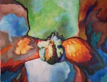 Claude THIEL DE NEUVILLE - Gemälde - Passion isotherms n°5