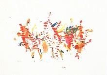 Alighiero BOETTI - Grabado - Saltando di Palo in Frasca,