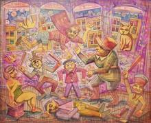 Ronaldo ENRIGHT - Painting - justicia mayor