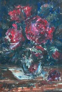 Nathalie GONTCHAROVA, Bouquet de fleurs.
