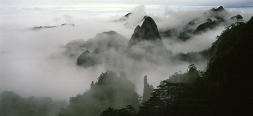 Stuart FRANKLIN - Photography - Huang Shan, Die gelben Berge, China