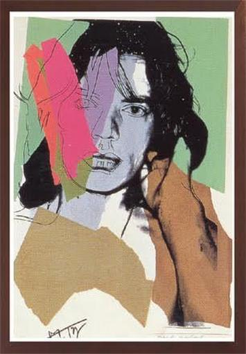 Andy WARHOL - Stampa-Multiplo - MICK JAGGER FS II.140
