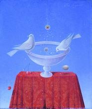 Claudio CARGIOLLI - Peinture - Atto d'amore