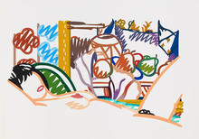 Tom WESSELMANN - Print-Multiple - Monica Nude with Cezanne