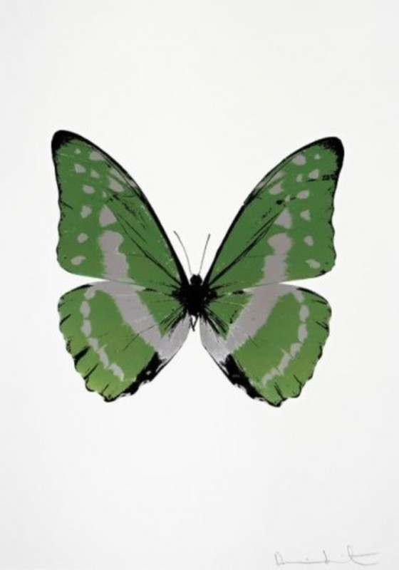 Damien HIRST - Print-Multiple - The Soul (Leaf Green)