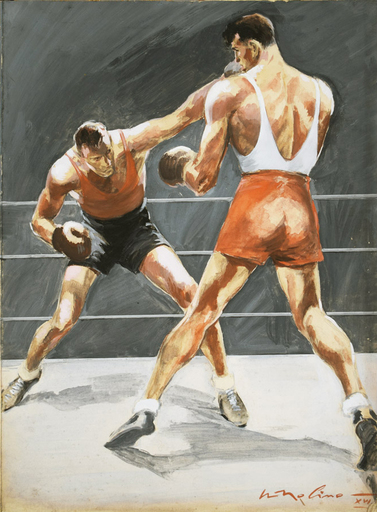 Walter MOLINO - Pintura - Boxe