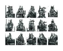 Bernd & Hilla BECHER - Photography - Blast Furnaces