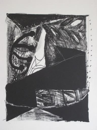 Jean PIAUBERT - 版画 - LITHOGRAPHIE SIGNÉE CRAYON NUM/48 HANDSIGNED LITHOGRAPH
