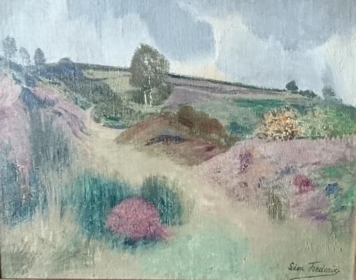 Léon FREDERIC - Pintura - Landschap nr 1