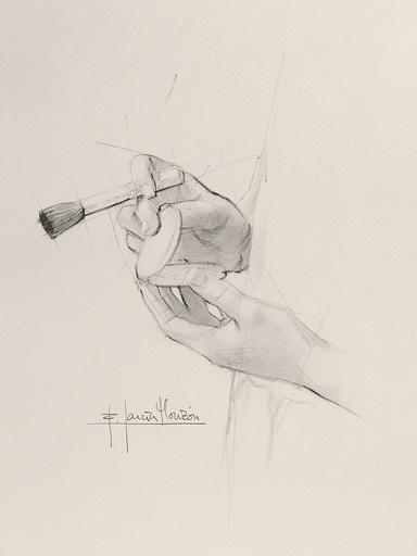 Fernando GARCIA MONZON - 水彩作品 - Make up 3