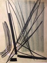 Hans HARTUNG - Estampe-Multiple - GRAVURE 7 Gravure en couleurs sur papier Arches