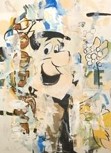 Heiner MEYER - Pintura - Flashback Flintstones