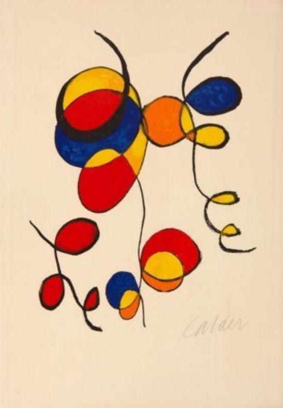 Alexander CALDER - Print-Multiple - Spiral