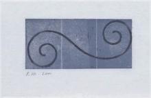 Robert MANGOLD - Estampe-Multiple - Untitled