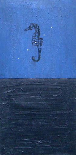 Antón PATIÑO PÉREZ - Gemälde - CABALLITO DE MAR