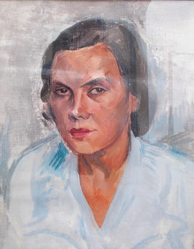 Leonide FRECHKOP - Painting - Portrait