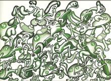 Peter SAUL - Print-Multiple - COMPOSITION