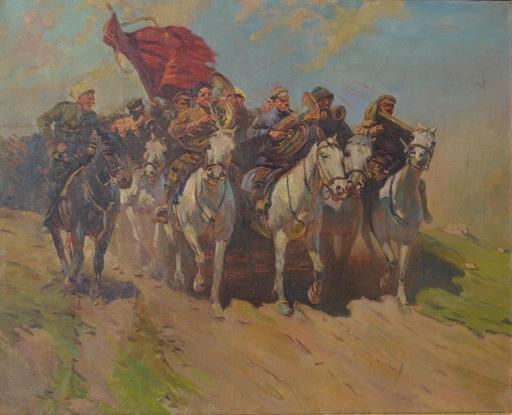 Mitrofan Borisovic GREKOV - Pintura