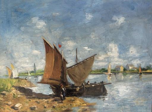 Albert BERTALAN - Gemälde - Les pecheurs
