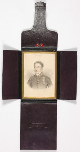 "Johann Nepomuk ENDER - Miniatur - Johann Nepomuk ENDER ""Austrian Chancellor Prince Metternich"""