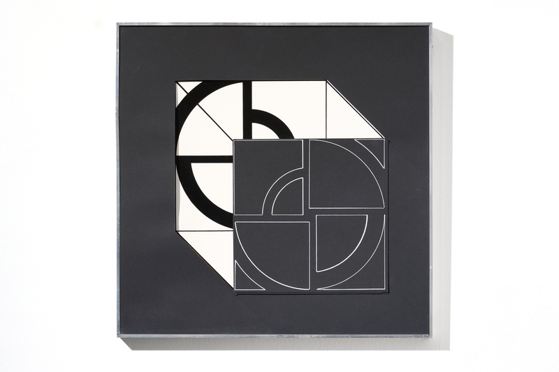 Giovanni CAMPUS - Pintura - Struttura Modulare Continua