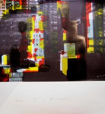 Tony SOULIÉ - Grabado - NEW YORK