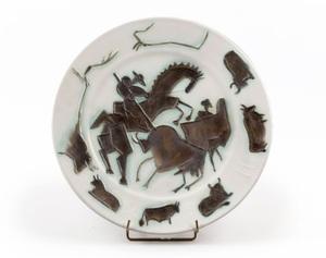 Pablo PICASSO - Ceramic - Corrida