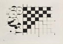 瓦西里•康定斯基 - 水彩作品 - Composition