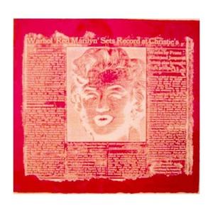 William ANASTASI - Druckgrafik-Multiple - Red Marilyn