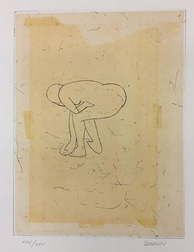马诺罗·瓦尔代斯 - 版画 - Desnudo VI