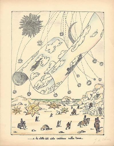 乔治•德•基里科 - 版画 - ...e le stelle del cielo caddero sulla terra,1941