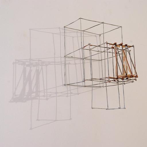 José ZUGASTI - Escultura - Estructuras y transparencias