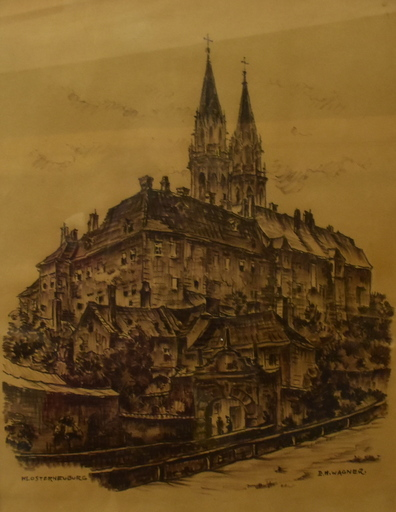 Ernst Michael WAGNER - Drawing-Watercolor - Klosterneuburg