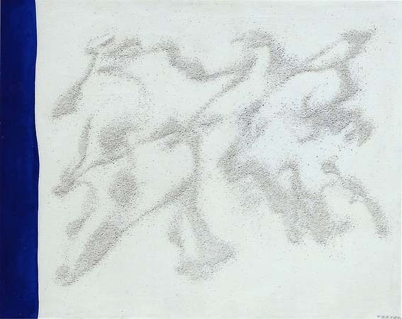 Giulio TURCATO - Painting - Desertico