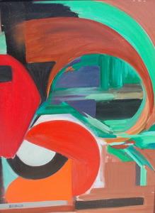 Xavier ZEVACO - Pintura - Abstrait géométrique
