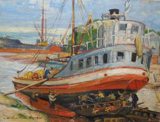 Wilbert FISKE NOYES - Painting