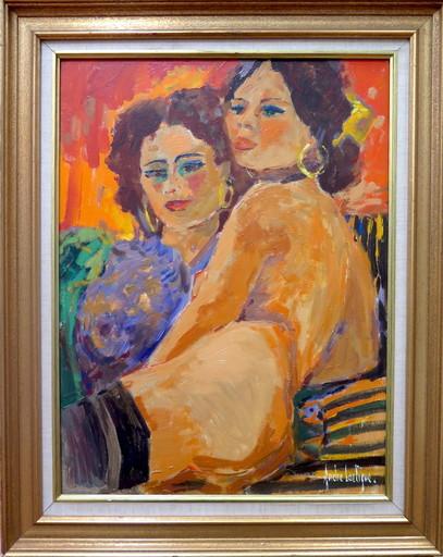 André LARTIGUE - Gemälde - Kim et Lola