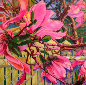 Guylaine MALO - Pintura - Sortie de mai à Boisbriand