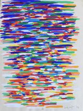 皮耶罗·多拉齐奥 - 绘画 - Untitled | Senza Titolo