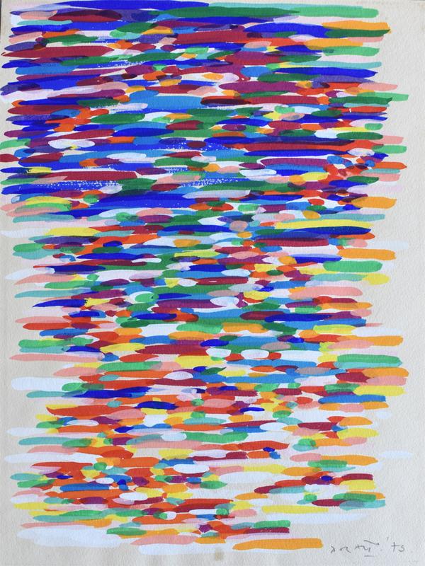 Piero DORAZIO - Pintura - Untitled | Senza Titolo