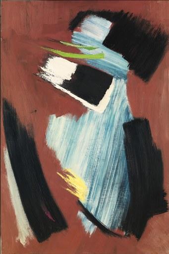 Gérard SCHNEIDER - Peinture - Untitled
